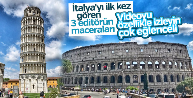 İtalya'da üç gün