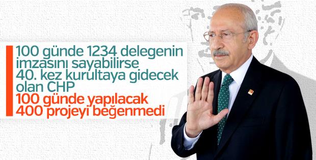 Kemal Kılıçdaroğlu 100 günlük eylem programını beğenmedi