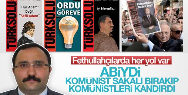 Türk Solu Fethullahçı çıktı