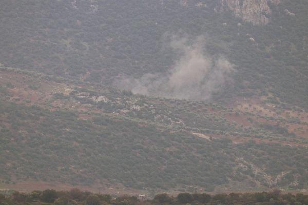 TSK Afrin'de PYD'yi milli füzelerle vurdu