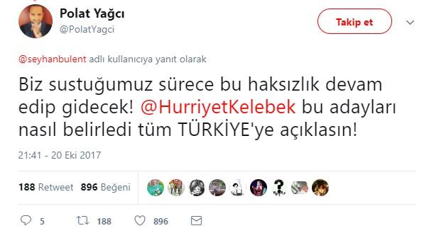 Hande Yener Altın Kelebek Ödülleri'ne ateş püskürdü