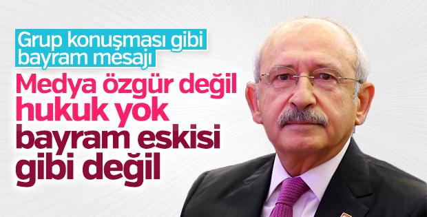 Kılıçdaroğlu'nun bayram mesajı