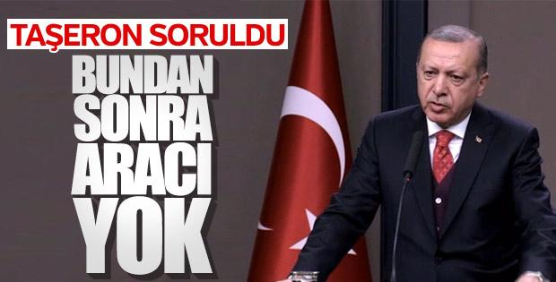 Cumhurbaşkanı Erdoğan taşeron işçi düzenlemesini anlattı