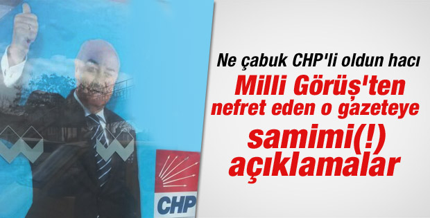 Sabri Erbakan Cumhuriyet Gazetesi'ne konuştu
