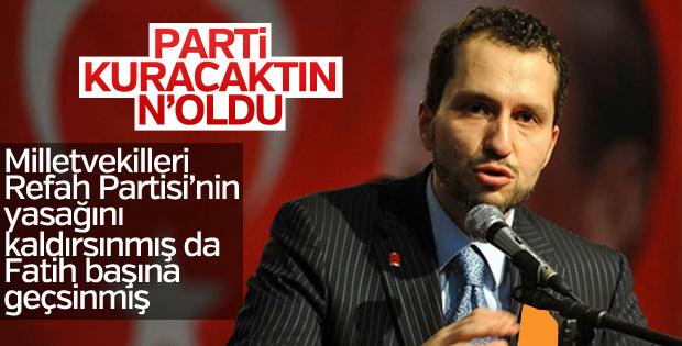 Fatih Erbakan, Refah'ın yeniden kurulmasını istiyor