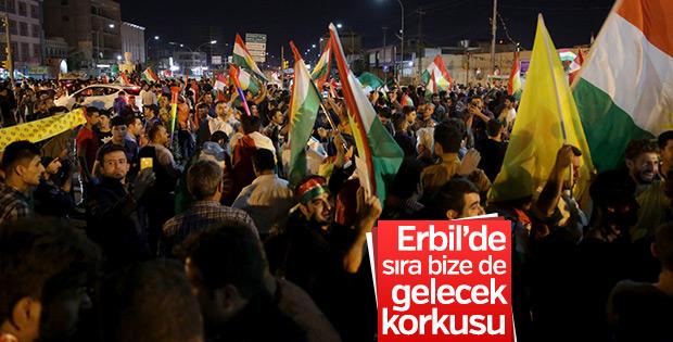 Kerkük operasyonu Erbil'de korkuya neden oldu