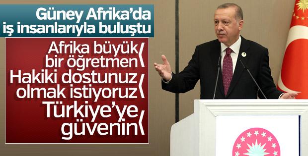 Erdoğan: Aşacağımız daha çok büyük tepeler var