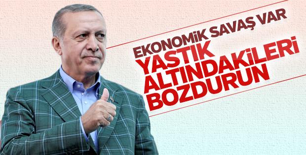 Erdoğan: Türk ekonomisi saldırılara karşı şerbetlidir
