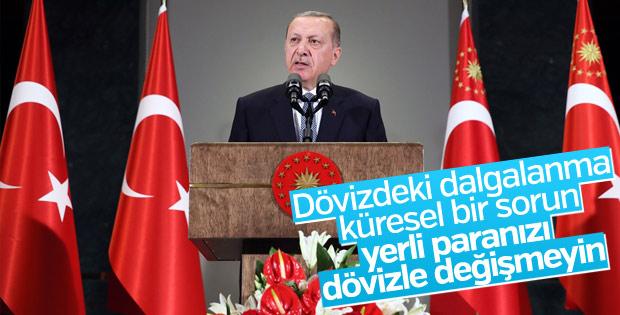 Erdoğan, kurdaki dalgalanmayla ilgili konuştu