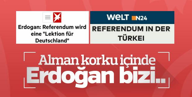 Alman basını Türkiye'deki referandumla yakından ilgili