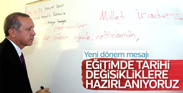 Başkan Erdoğan: Hedeflere ulaşmak için güç birliği yapmalıyız