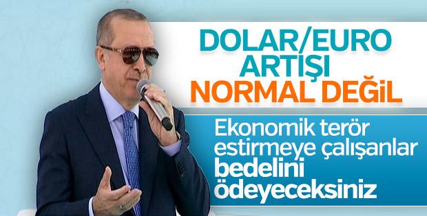 Cumhurbaşkanı Erdoğan: Bizi döviz kuru ile terbiye ...