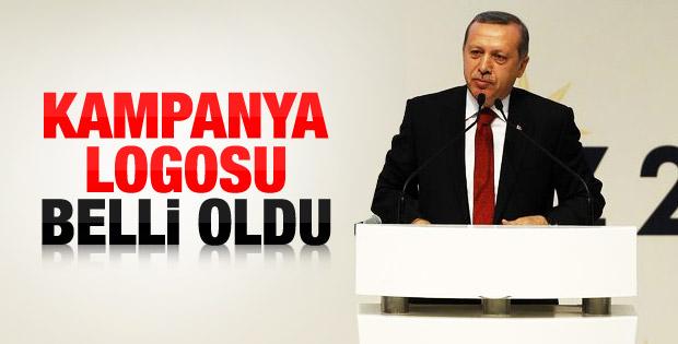 Erdoğan'ın seçimde kullanacağı logo belli oldu