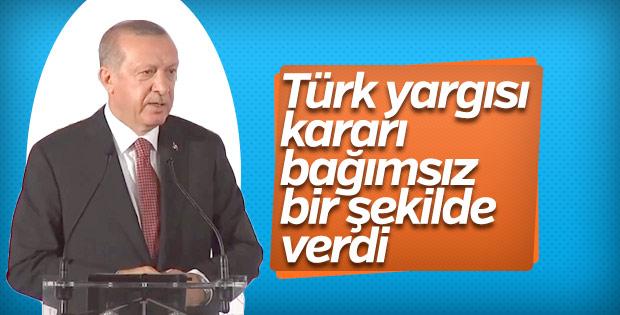 Erdoğan'dan Trump'a Brunson yanıtı
