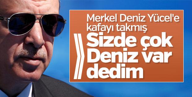 Cumhurbaşkanı Erdoğan Merkel'le görüşmesini anlattı
