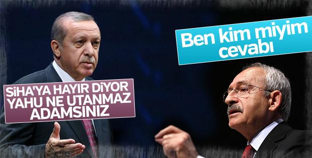 Kılıçdaroğlu'ndan Erdoğan'a 'sen kimsin' cevabı
