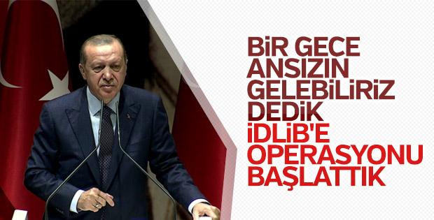 Cumhurbaşkanı Erdoğan İl Başkanları toplantısında