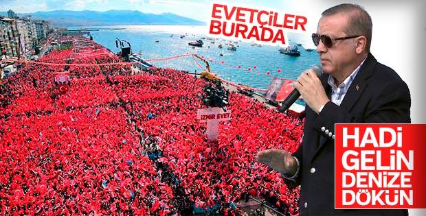 Cumhurbaşkanı'nın İzmir konuşması