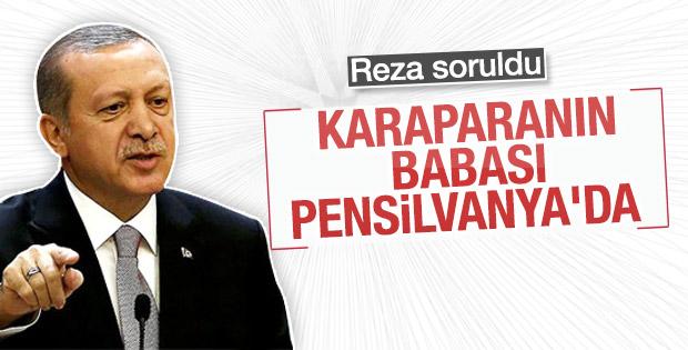 Cumhurbaşkanı Erdoğan'a Reza Zarrab soruldu