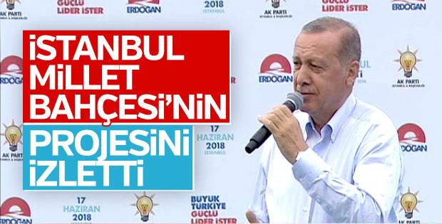Cumhurbaşkanı'nın Büyük İstanbul Mitingi konuşması