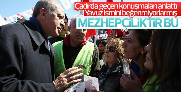 Cumhurbaşkanı Erdoğan'ın Samsun konuşması