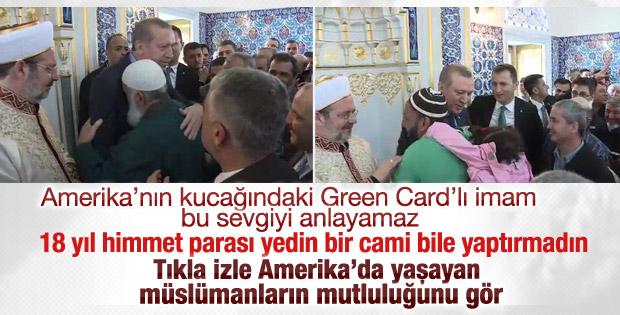 ABD'de yaşayan müslümanların Erdoğan sevgisi