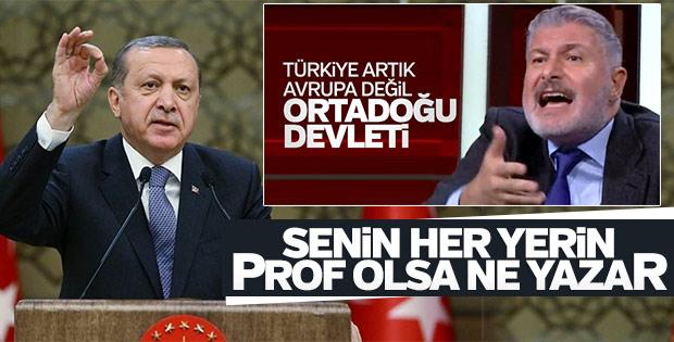 Erdoğan'dan Türkiye'yi karalayan Bahadır Erdem'e tepki