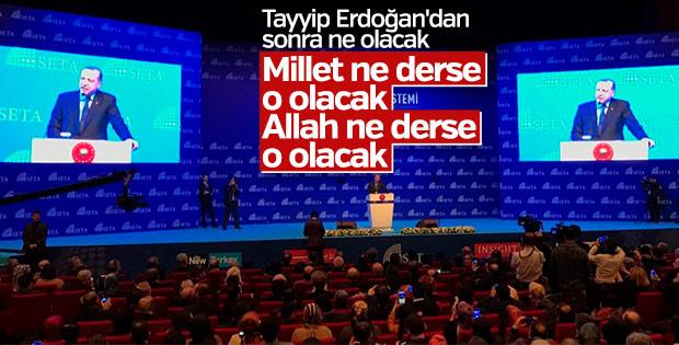 Erdoğan, referandum öncesi yeni sistemi anlattı
