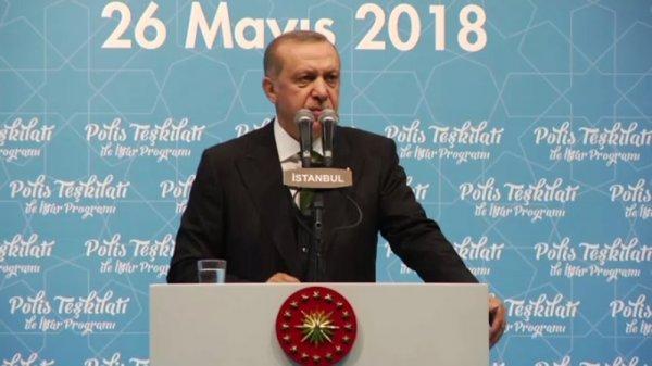 Erdoğan'dan polislere: Oyların namusu size emanet