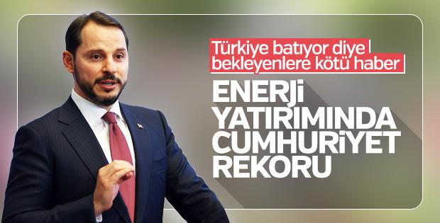 Bakan açıkladı: Enerjide Cumhuriyet tarihi rekoru kırıldı