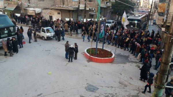 Esad'ın askerleri Afrin yolunda