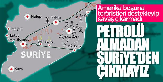 Amerika, Esad'dan Suriye petrollerini istedi