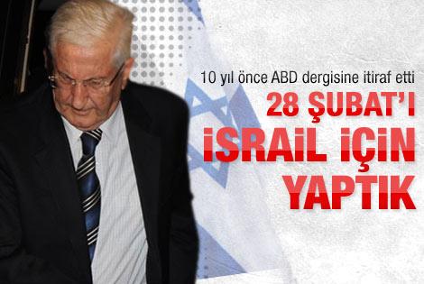 28 Şubat'ı İsrail için yaptık