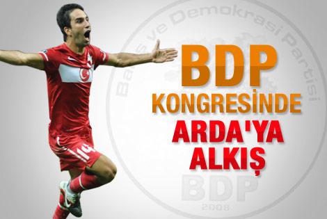 BDP kongresinde Arda'ya büyük alkış
