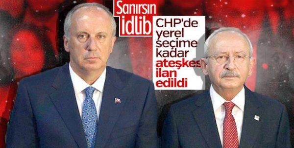 Kemal Kılıçdaroğlu ile Muharrem İnce aynı karede