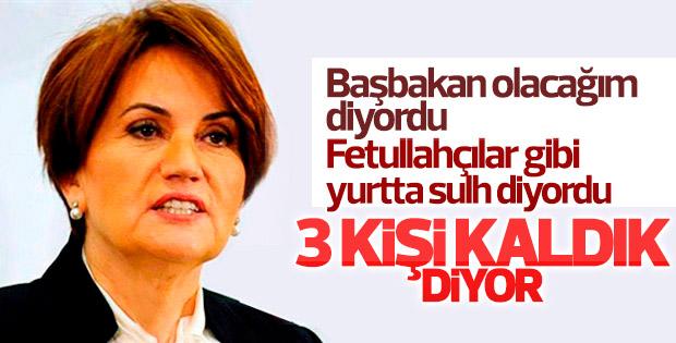 Meral Akşener: Başkanlığa karşı 3 kişiyle çalışacağız