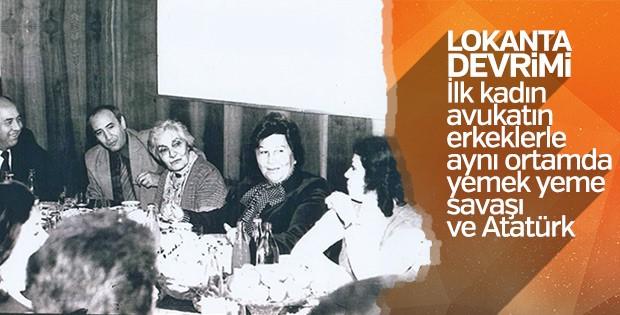 İlk kadın avukatımızın lokanta imtihanı