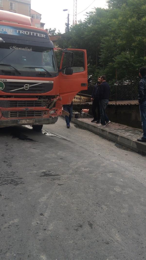 İstanbul'da hafriyat kamyonu dehşet saçtı