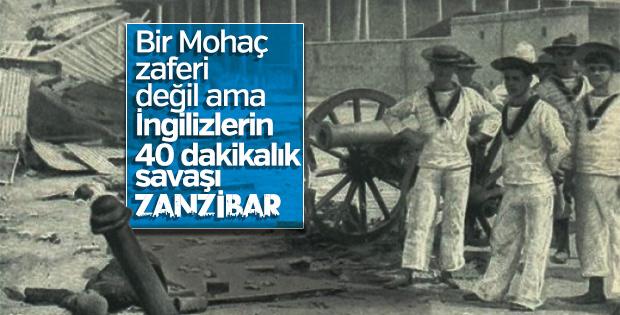 Dünyanın en kısa savaşı: Zanzibar