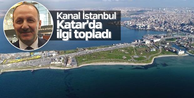 Kanal İstanbul Katar'da ilgi topladı