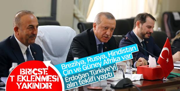 Erdoğan BRICS'e 'Türkiye'yi de alın' çağrısında bulundu