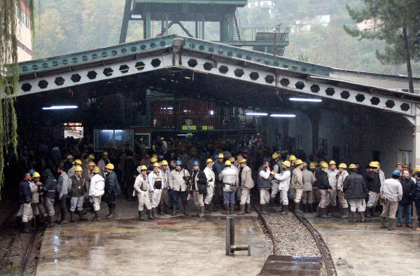Zonguldak'ta maden işçilerinin eylemi bitti