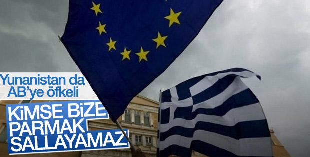 Yunanistan'dan AB'ye sığınmacı tepkisi