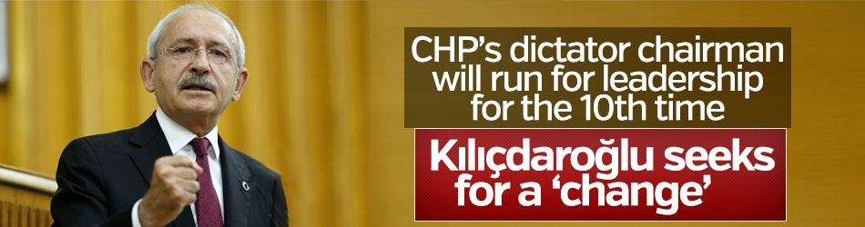 CHP leader seeks for a 'change'