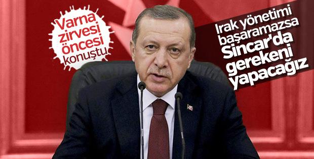 Cumhurbaşkanı Erdoğan'dan Varna zirvesi öncesi açıklamalar