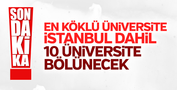 15 yeni üniversite kuruluyor