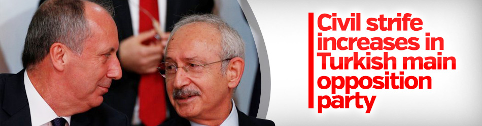 Civil strife increases in Turkish main opposition party