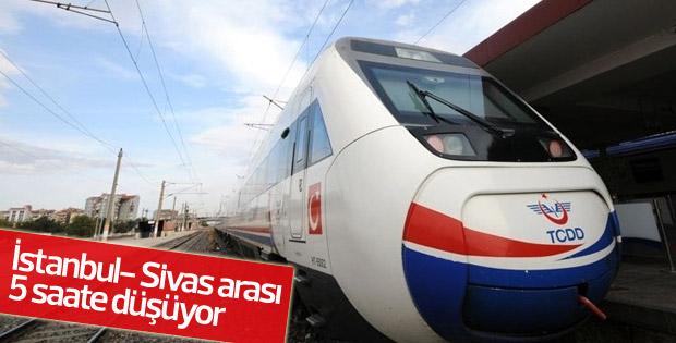 Sivas'tan çıkan yolcu İstanbul'a 5 saatte ulaşacak