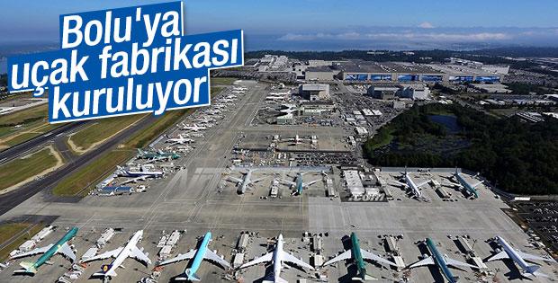 Bolu'ya uçak fabrikası kuruluyor