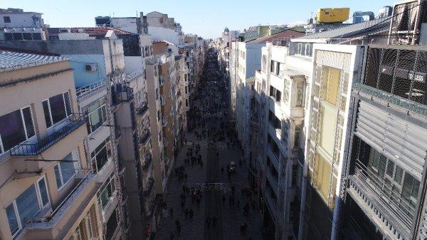 İstiklal Caddesi yenilendi
